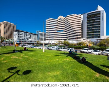 Saniam Center and Mutual Tower at Independence Ave, Windhoek, Windhoek, Namibia , Mar 2015