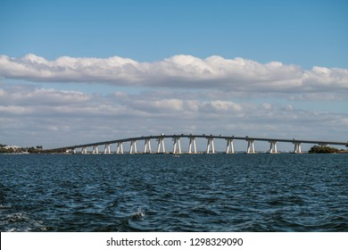 Sanibel Causeway Bridge - the connection between Sanibel Island and Punta Rassa in the Cape Coral - Fort Myers, Metropolitan Area, Lee County, Florida, United States