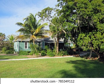 SANIBEL, FLORIDA - DECEMBER 05: The Bailey Homestead Preserve Sanibel Captiva Conservation Center Florida  2016