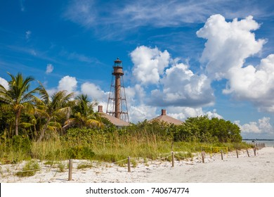 Sanibel Island Lighthouse on Sanibel Island on the Gulf of Mexico Southwest Coast of Florida