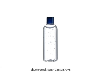 Sanitizer  gel for hand hygiene. Antiseptic Hand Wash . Hand Alcohol Sanitizer. Bottle isolated on a white background.