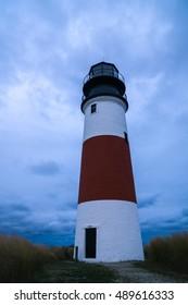 Sankaty Head Lighthouse on Nantucket, Massachusetts