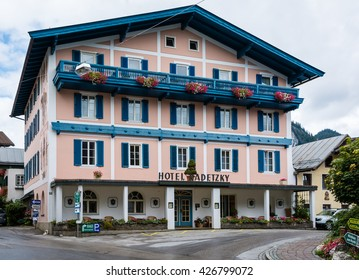 Sankt Gilgen is a picturesque village by the Wolfgangsee in the Austrian state of Salzburg