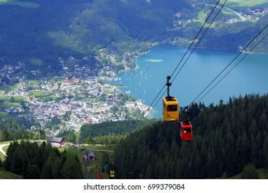 Sankt Gilgen, Salzkammergut, Austria