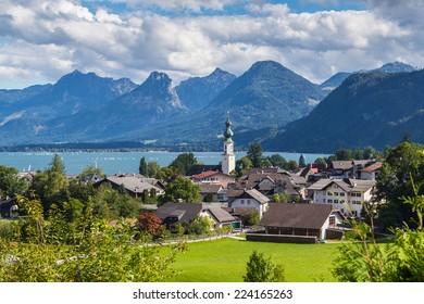 Sankt Gilgen am Wolfgangsee.