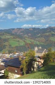 Sankt Johann im Pongau in Salzburger Land,Austria