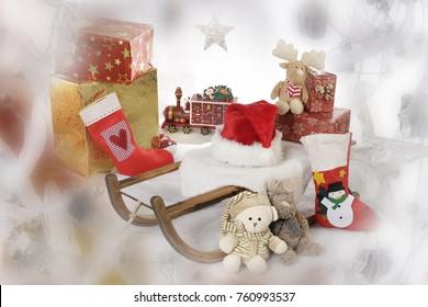 Sankt Nikolaus, Geschenke, Weihnachten,