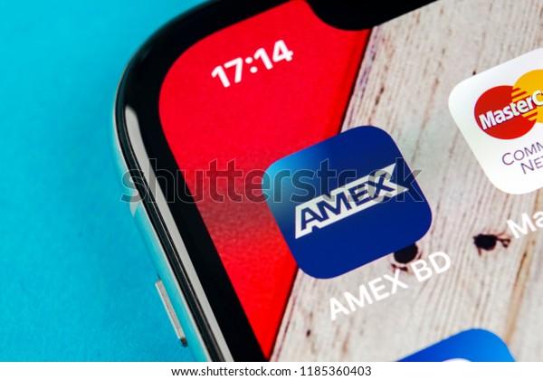 Sanktpetersburg September 19 2018 Amex Application Stock Photo Edit Now 1185360403