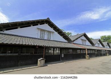 Sankyo warehouse in Sakata, Yamagata, Japan