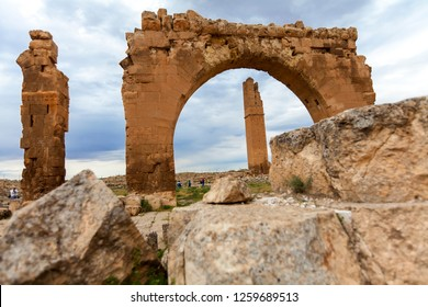 Sanliurfa, Turkey, Ruins of the ancient city of Harran in mesopotamia (It is one of the first science centers in the world. The first university in the world is here)