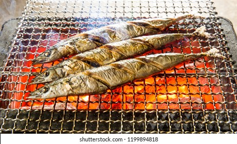 Sanma, grilled fish, Japanese cuisine