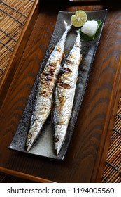 Sanma, grilled pacific saury