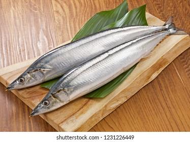 Sanma (raw Pacific saury)