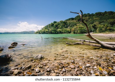 Sano Nggoang Crater Lake Clear Water Indonesia Flores