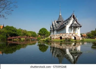 Sanphet Prasat Palace in Samut Prakan province, Thailand