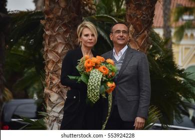 Sanremo Itay, Press Conference of the 67th festival of Italian song. Carlo Conti and Maria De Filippi will be the presenters of the event.