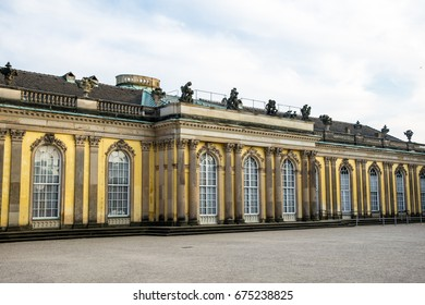 Sanssouci palace near berlin Germany