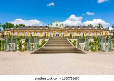 Sanssouci palace and park, Potsdam, Germany