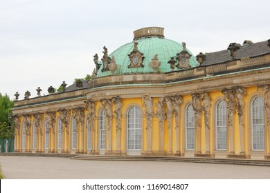 Sanssouci, Summer Palace of Fredrick the Great in Potsdam, Germany