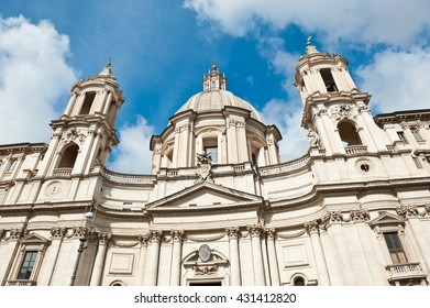 Sant' Agnese in Agone, Piazza Navona, Rome, Italy