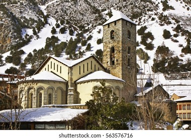 Sant Esteve church in Andorra la Vella. Andorra