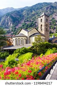 Sant Esteve church located in Andorra la Vella, Andorra