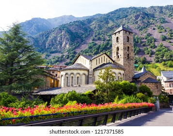 Sant Esteve church located in Andorra la Vella, Andorra