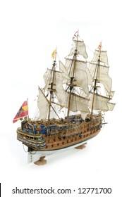 Sant Felipe a Spanisch galleon as a war ship