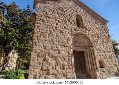 Sant Joan de les Abadesses, Catalonia, Spain. Romanesque church of Sant Pol.