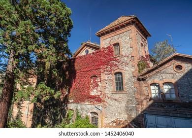 Sant Joan de les Abadesses, Catalonia, Spain. Rural ancient village house.