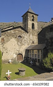 Sant Juli Church, Arros de Cardos, LLeida province, Catalonia , Spain