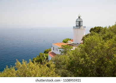 Sant Sebastia lighthouse, Palafrugell, Spain.