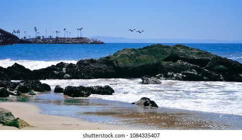 Santa Barbara Beach, California, USA