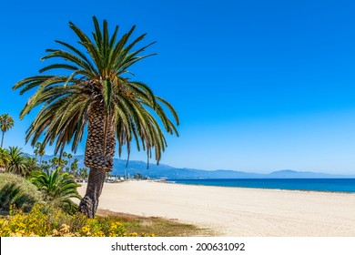 Santa Barbara beach, California, USA