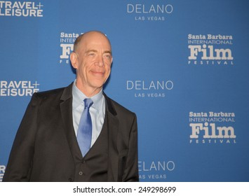 SANTA BARBARA, CA - February 01, 2015: Actor J. K. Simmons  attends the 30th Santa Barbara International Film Festival to receive the Virtuosos Award #SBIFF