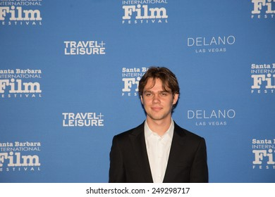 SANTA BARBARA, CA - February 01, 2015: Actor Ellar Coltrane attends the 30th Santa Barbara International Film Festival to receive the Virtuosos Award #SBIFF
