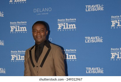 SANTA BARBARA, CA - February 01, 2015: Actor David Oyelowo attends the 30th Santa Barbara International Film Festival to receive the Virtuosos Award #SBIFF