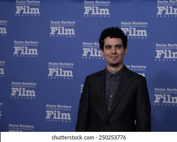 SANTA BARBARA, CA - February 04, 2015: Damien Chazelle (Whiplash) attends the 30th Santa Barbara International Film Festival to receive the Outstanding Directors Award #SBIFF