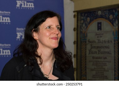 SANTA BARBARA, CA - February 04, 2015: Laura Poitras (Citizenfour) attends the 30th Santa Barbara International Film Festival to receive the Outstanding Directors Award #SBIFF