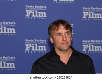 SANTA BARBARA, CA - February 04, 2015: Director Richard Linklater (Boyhood) attends the 30th Santa Barbara International Film Festival to receive the Outstanding Directors Award #SBIFF