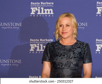 SANTA BARBARA, CA - February 05, 2015: Actress Patricia Arquette (Boyhood) attends the30th Santa Barbara International Film Festival to receive the American Riviera Award #SBIFF