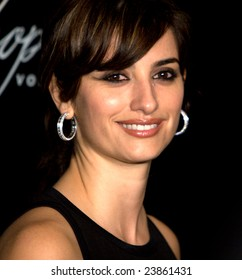 SANTA BARBARA, CA - JANUARY 24: Oscar nominee Penelope Cruz at the 24th Santa Barbara International Film Festival to accept the Chopin Performer of the Year Award on January  24, 2009 in Santa Barbara, CA.