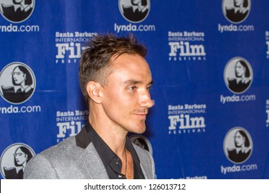 SANTA BARBARA, CA JANUARY 25: Actor and Director (Revolution) Rob Stewart on the Red Carpet at the 28th Santa Barbara International Film Festival in Santa Barbara, CA on January 25, 2013.