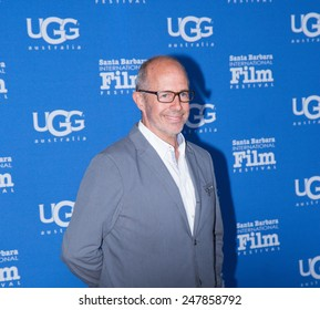 SANTA BARBARA, CA - JANUARY 27, 2015: Director Peter Chelsea (Serendipity) on the Red Carpet at the 30th Santa Barbara International Film Festival.