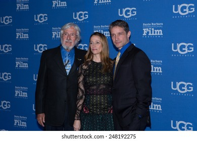 SANTA BARBARA, CA - JANUARY 28, 2015: Jean-Michel, Celine, and Fabien Cousteau attend the Attenborough Award honoring the Cousteau family at the 30th Santa Barbara International Film Festival #SBIFF