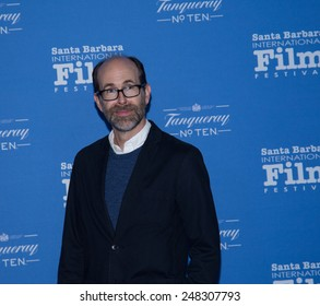 SANTA BARBARA, CA - JANUARY 29, 2015: Brian Huskey (Ron and a writer on A Better You) on the red carpet at the 30th Santa Barbara International Film Festival #SBIFF