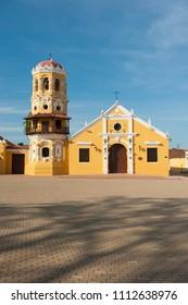 Santa Barbara Church, Mompox, Colombia.