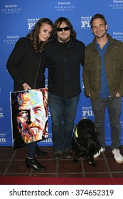 SANTA BARBARA - FEB 9: Lara Firestone, John Bramlitt, Ryan Pettey the Montecito Award at the Arlington Theatre - 31st Santa Barbara International Film Festival on February 9, 2016 in Santa Barbara, CA