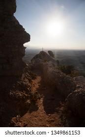Santa Barbara Peak. Los Ports natural park. Tarragona province. Spain