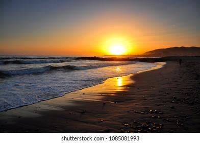Santa Barbara Sun Set